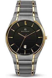 394d9355a Accurist Mens Analogue Classic Quartz Watch with Titanium Strap 7139
