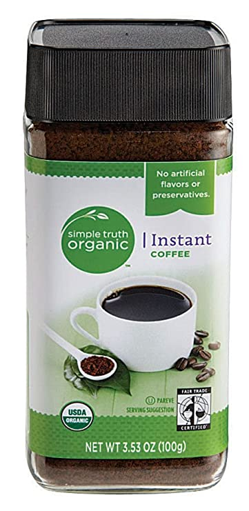 Amazon Com Simple Truth Organic Instant Coffee 3 53 Oz Grocery