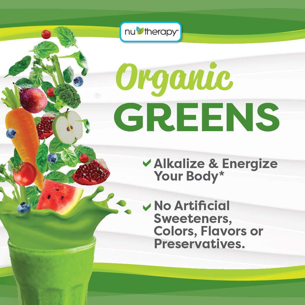 Amazon.com: Nu-Therapy - Polvos orgánicos verdes ...
