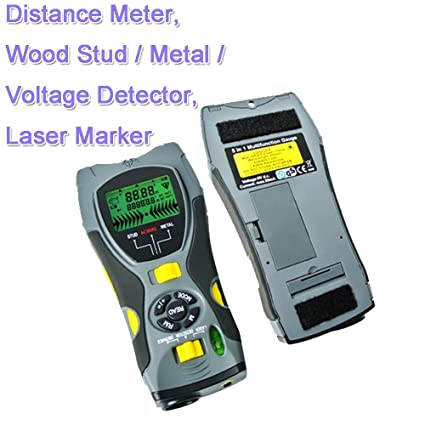5 In1Multifunction Distance Meter;Wood Stud; Metal; Voltage Detector;Laser Marker KC109