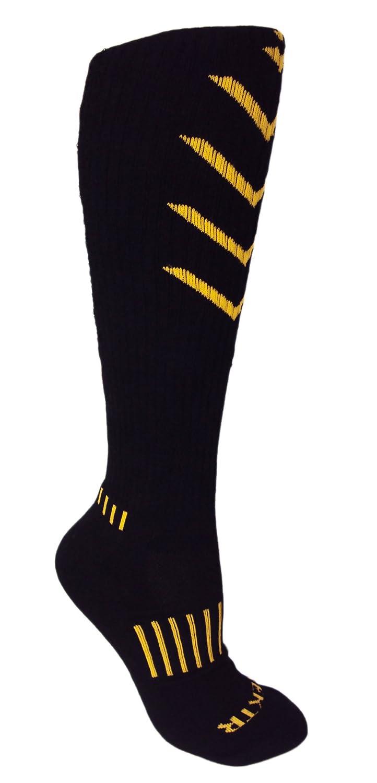 bb1e6f44e05 Amazon.com  MOXY Socks Premium Deadlift Cushion Knee-High Fitness Socks  3-Pack  Sports   Outdoors