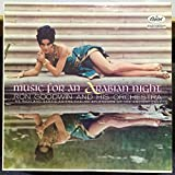 RON GOODWIN music for an arabian night LP Used_VeryGoodT-10251 Capitol 1959 Mono USA
