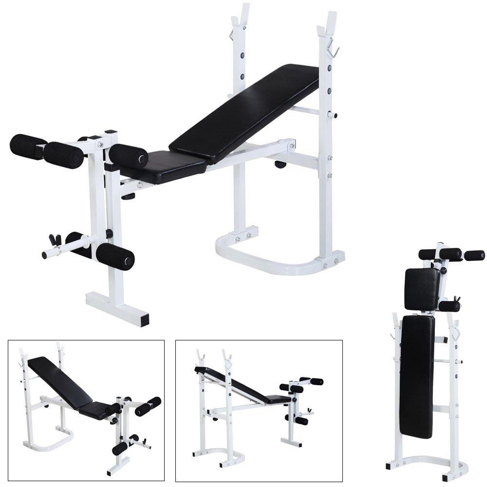 Amazon Com Giantex 132 Lb Barbell Dumbbell Weight Set Gym