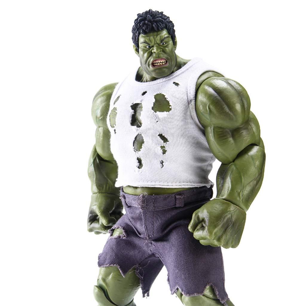 KGMYGS Marvel Grün Giant Modell Avengers Hulk Puppe Statue Anime Ornament