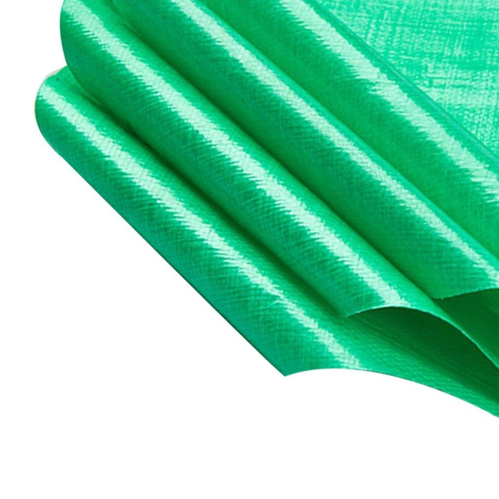 Zelt Zubehör Plane Grünes Segeltuch-Polyäthylen-leistungsfähiger wasserdichter Sonnenschutz, der im Poncho benutzt wird Familien-kampierender Garten draußen hat hochwertige schützende Schicht, Stärke
