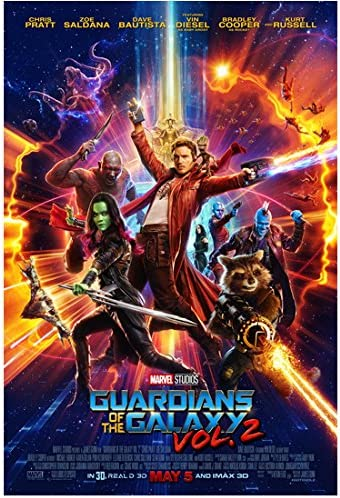 Guardians Of The Galaxy Vol 2 2017 8 Inch By 10 Inch Photograph Jurassic World Her Chris Pratt Full Body W Cast Movie Poster Kn At Amazon S Entertainment Collectibles Store