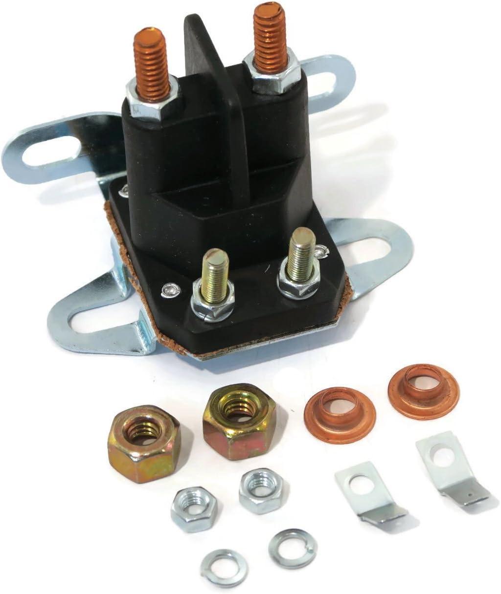 The ROP Shop Starter Solenoid for John Deere L100 L110 L118 L120 L130 Mower AM133094 AM138497