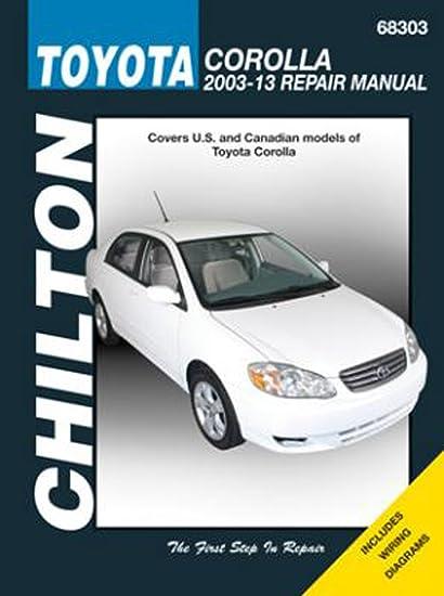 toyota corolla 2006 parts manual