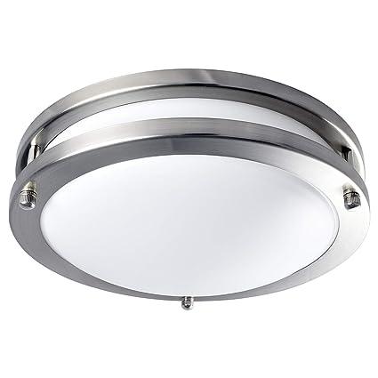 timeless design ed167 11381 Luxrite LED Flush Mount Ceiling Light, 10 Inch, Dimmable, 5000K Bright  White, 1000 Lumens, 14W Ceiling Light Fixture, Energy Star & ETL - Perfect  for ...
