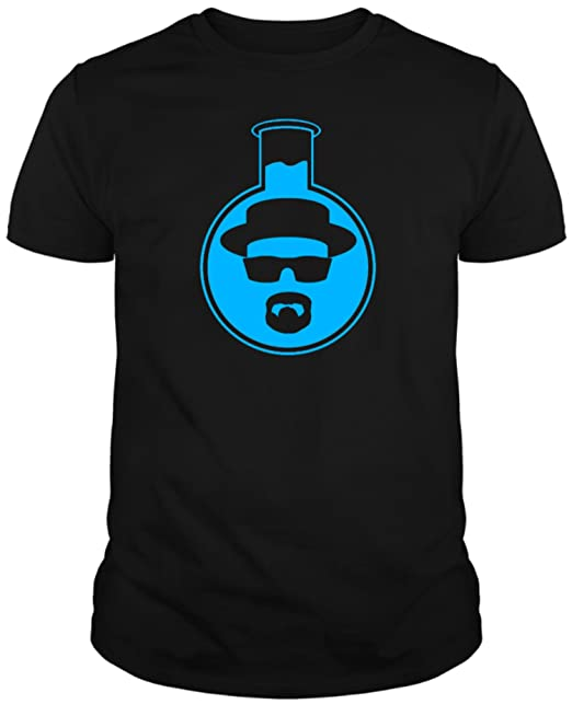 The Fan Tee Camiseta de Breaking Bad Heisenberg Jesse Walter White Laboratories Cristal Hombre XbEabPoiOz