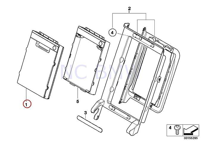 Amazon Com Bmw Genuine Ski Bag Cassette Automotive