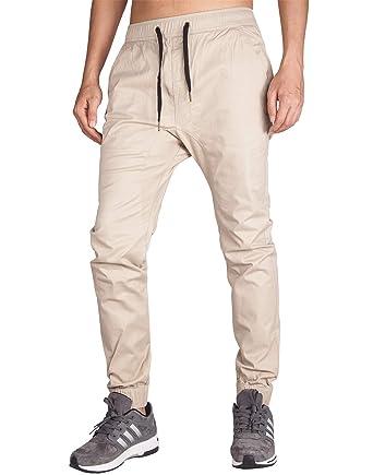 Italy Morn Herren Chinohose Jogginghose Casual Stoff Jogger Hose Slim Fit   Amazon.de  Bekleidung 828ef77e38