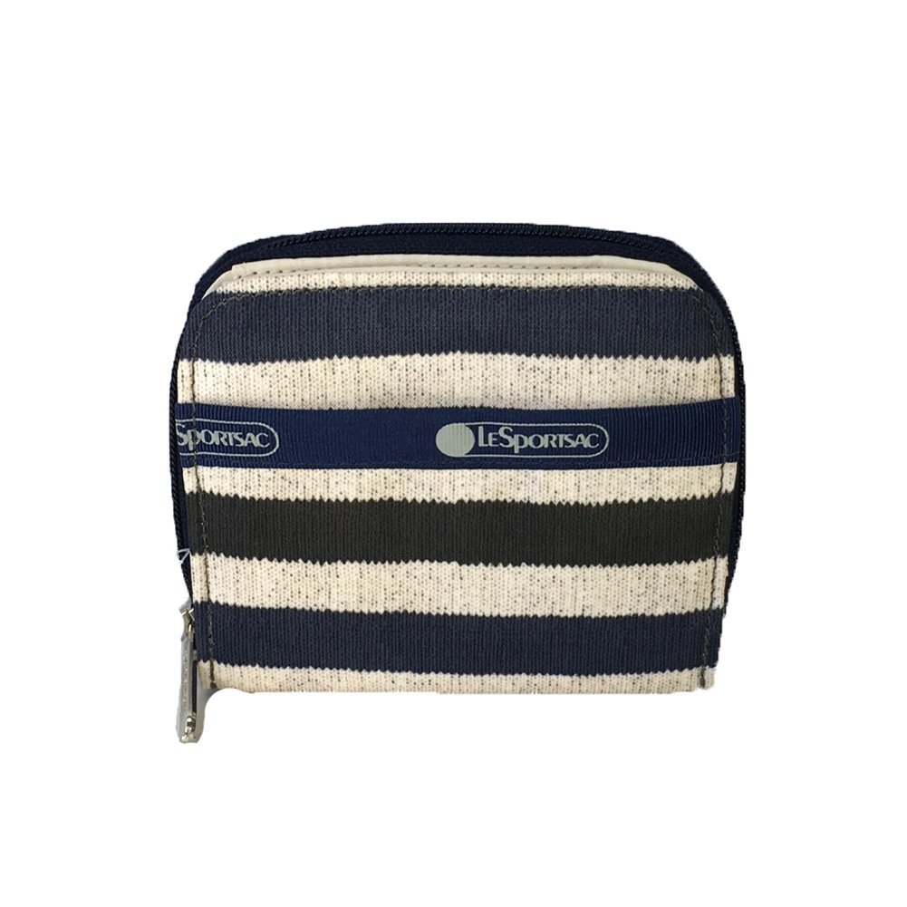 LeSportsac Claire Small Wallet, Cotton Stripe