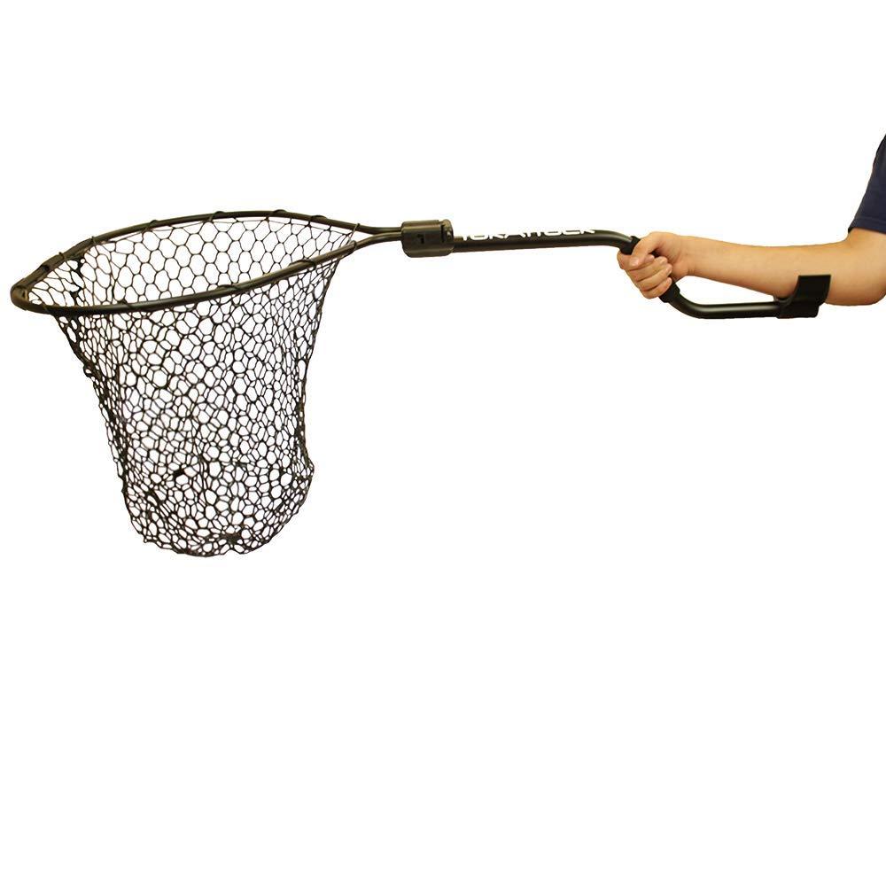"Yakattack Leverage Landing Net, 20"" X 21"" hoop, 48"" long"