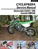 CPP-141-P Kawasaki KX85 KX100 Suzuki RM100 Cyclepedia Printed Motorcycle Service Manual