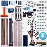 For Raspberry Pi 3 Zero kuman Starter Kit with Lcd Screen Remote GPIO Servo Motor Jump Wires DIY Temperature Sensor BMP180 Barometric Pressure 8 level Conversion Module Analog To Digital Converter K71