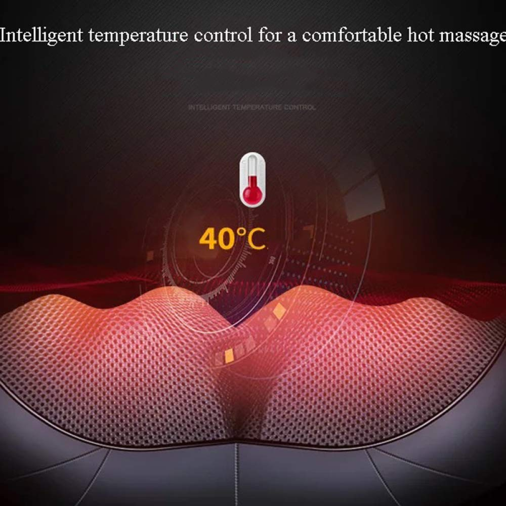 GAOQQ Shiatsu Back Neck and Shoulder Massager with Heat - Cervical Spine Kneading Multi-Function Massager for Office Home Car Use by GAOQQ (Image #7)