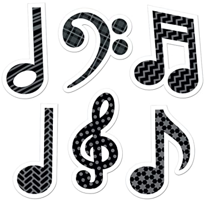 Amazon com : Creative Teaching Press Music Symbols Stickers