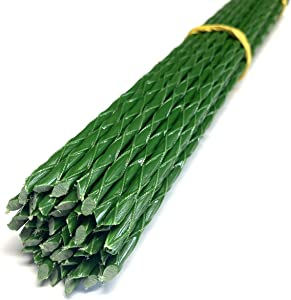 Eco-Friendly 18-Inch Fiberglass Garden Stakes, Tomato Stakes, Plant Stakes (Pack of 50)