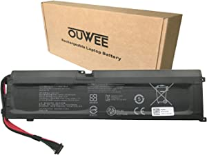 OUWEE RC30-0270 Laptop Battery Compatible with Razer Blade 15 2018 2019 Base RZ09-0270 RZ090270 RZ09-0300 RZ09-03006 RZ09-03009 Series Notebook 4ICP5/46/108 15.4V 65Wh 4221mAh 4-Cell