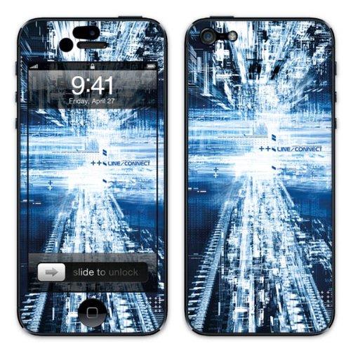 Diabloskinz B0081-0007-0004 Vinyl Skin für Apple iPhone 5/5S Catleinf