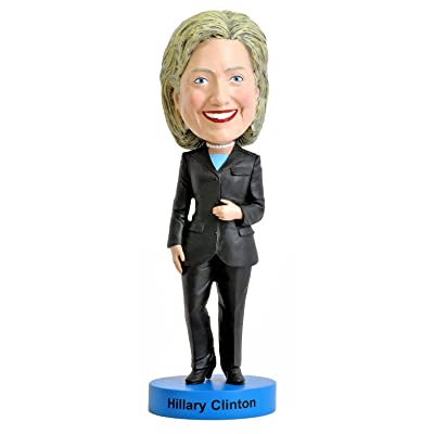 Royal Bobbles Hillary Clinton Bobblehead: Toys & Games