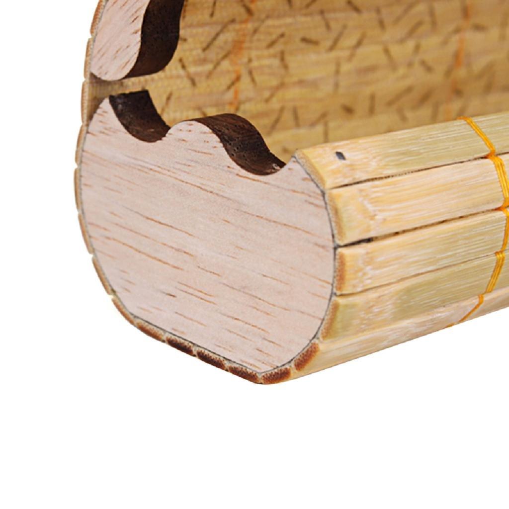 NNDA CO Handmade Men Women Bamboo Wooden Sunglasses Box Frame Glasses Case New,Bamboo,1PC