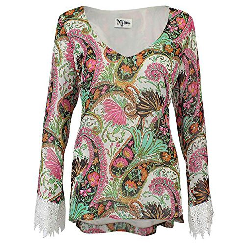 Show me your Mumu Womens Mal Top Palace Paisley - Show Fashion Mal