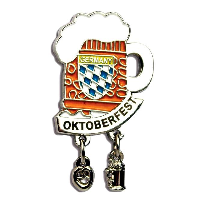 Amazon.com: Pin de metal para gorro de cerveza de Alemania ...