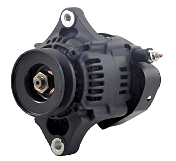 61daNyDifyL._SX355_ amazon com new mini denso type self exciting 60 amp alternator One Wire Alternator Installation at bayanpartner.co