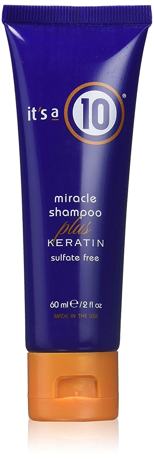 It's a 10 Haircare Miracle Shampoo Plus Keratin Sulfate Free, 1 fl. oz.