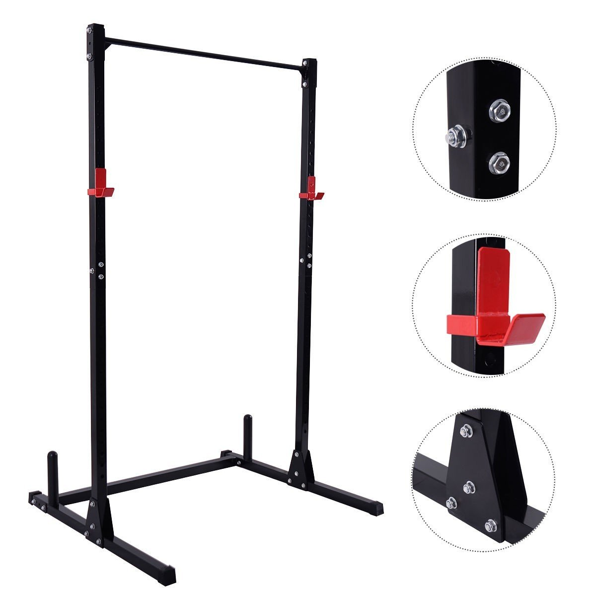 Strength Power Lifting Rack Station Free Weight Total Body Training Power Exercise