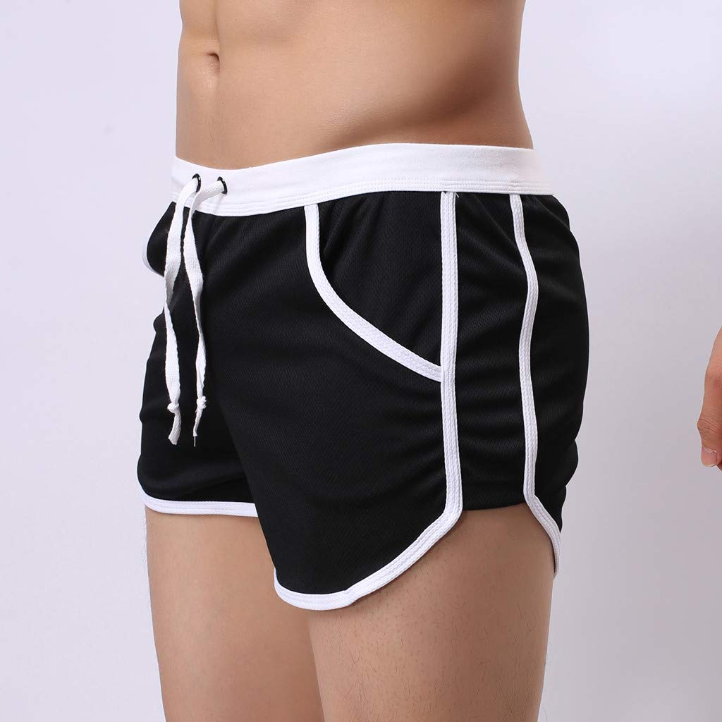 Palarn Sports Pants Casual Cargo Shorts Mens Summer Fashion Simple Sports Fitness Shorts Home Beach Trousers