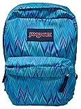 JanSport SuperBreak Backpack (Blue Marble Chevron)