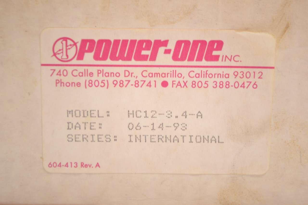 Amazon.com: power-one HC12 – 3.4-a t41631 de fuente de ...