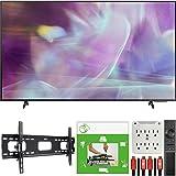 Samsung QN70Q60AAFXZA 70 Inch QLED 4K Smart TV 2021 Bundle with TaskRabbit Installation Services + Deco Gear Wall Mount + HDM
