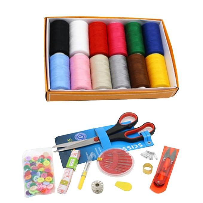 Partiss Fashion eléctrico Mini máquina de coser portátil de mano: Amazon.es: Ropa y accesorios