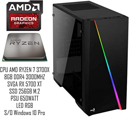 Pc Gaming Redi Ad4650xt Amd Ryzen 7 3700x A320m Rx 5700 Computers Accessories
