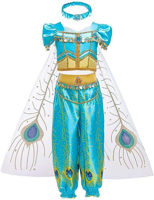 CLBING Aladdin Cosplay Juego Uniforme Disfraz De Halloween Sexy ...