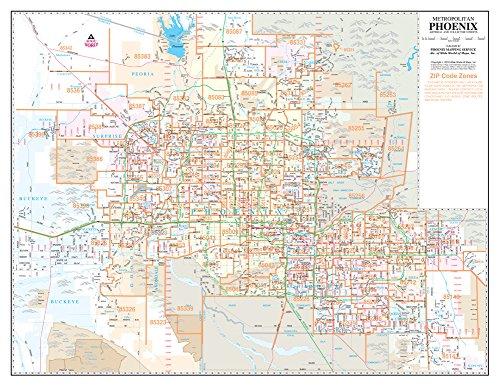 Metropolitan Phoenix ZIP Code Arterial and Collector Streets Desktop ...