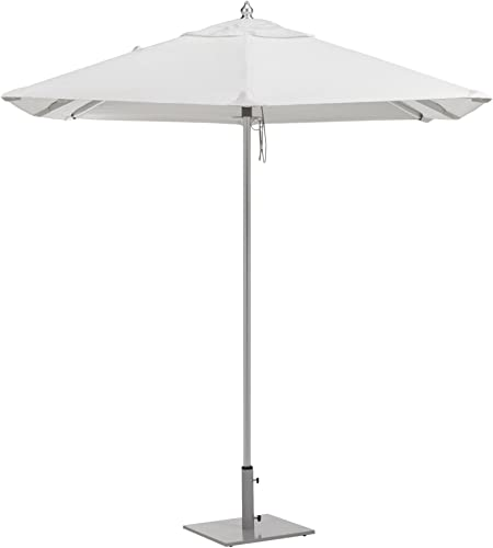 Oxford Garden Sunbrella Square Aluminum Umbrella
