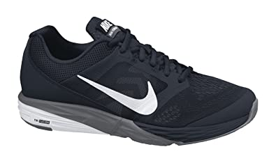 dbbbd0b12a94 Nike Men s Tri Fusion Run Running Shoe Black Dark Grey White Size 7.5 M