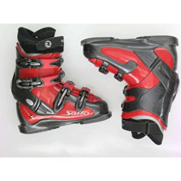 Amazon Com Used Ski Boots >> Used Rossignol Salto Red Black Ski Boots Women S 6 5