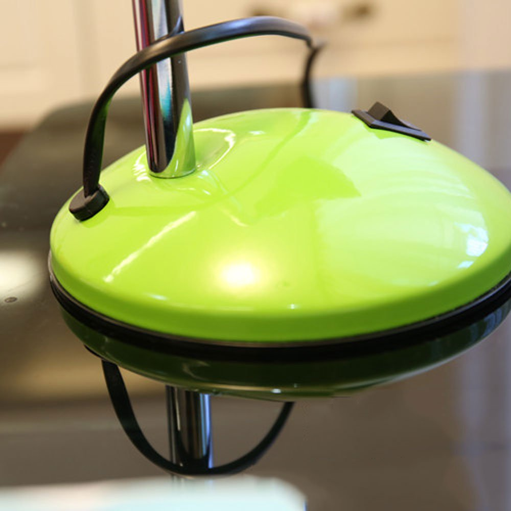 Shubiao Moda Minimalista Lámpara Cuello de Cisne Ajustable Lámpara Minimalista de Mesa de Hierro Forjado Cable de extensión Protección Ocular Escritorio Estudiantil Escritorio de la Luz Lámpara (Color : Verde) 05c5e0