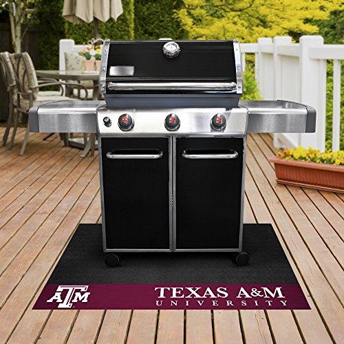 (FANMATS NCAA Texas A&M University Aggies Vinyl Grill Mat)