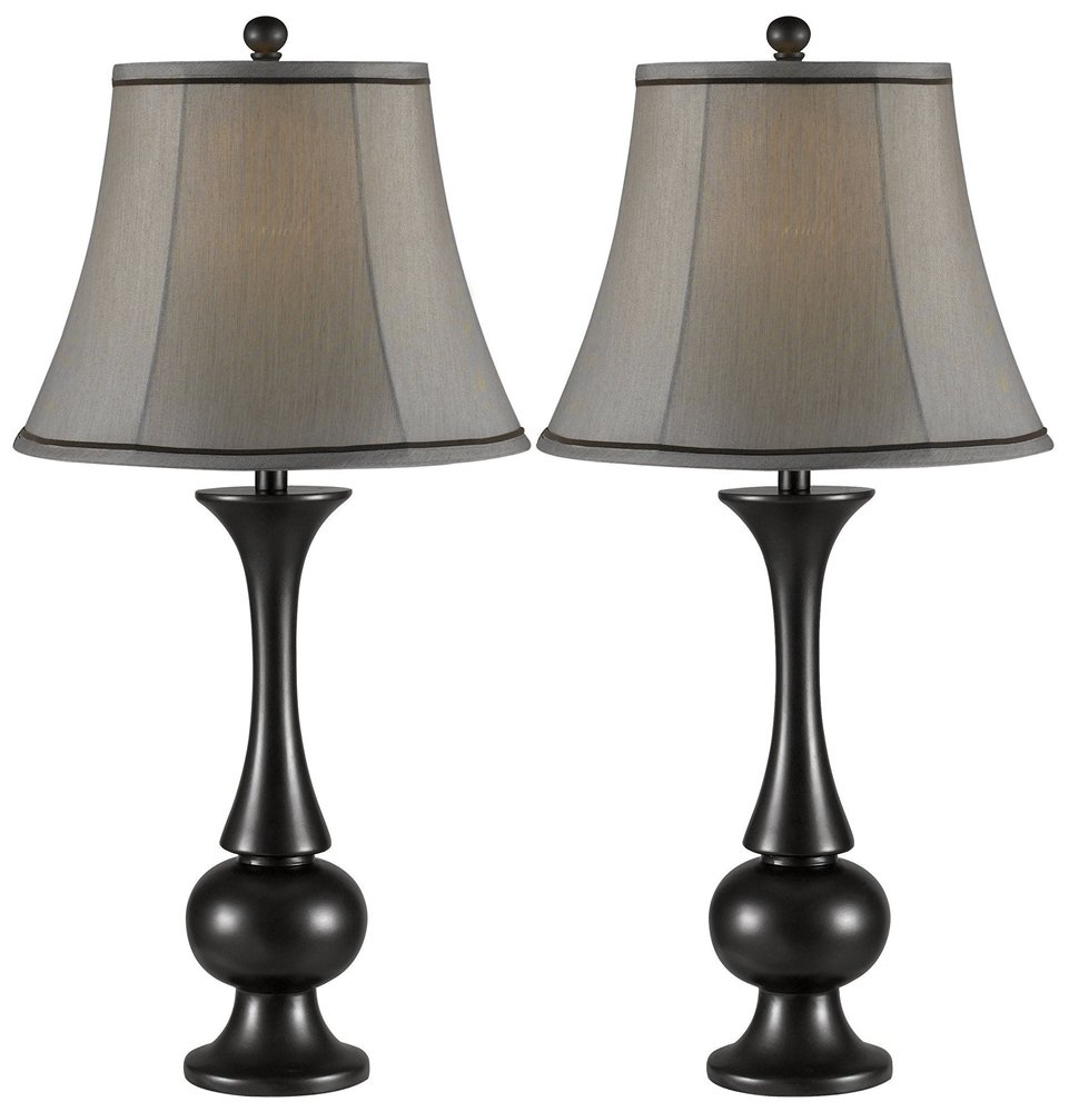 Exceptional Kenroy Home 21059MBZ Abbott 2 Pack Table Lamp, Metallic Bronze      Amazon.com