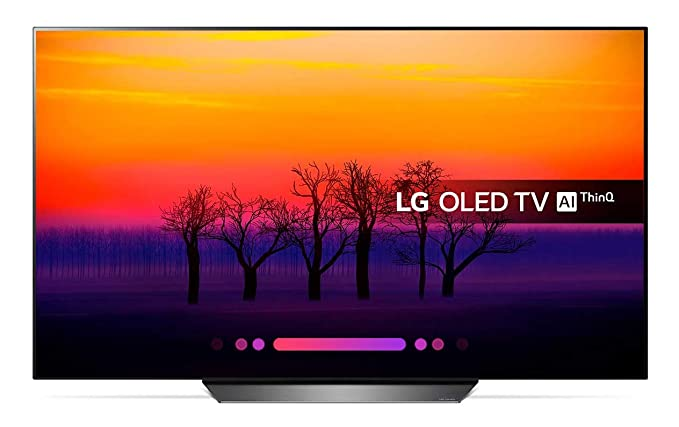 Lg Electronics Vvlgxlc5503371 Visera Plástica Regulable con Orejeras Lg OLED TV 4K con Inteligencia Artificial, Procesador ?7, 100% HDR, Dolby Visión/Atmos
