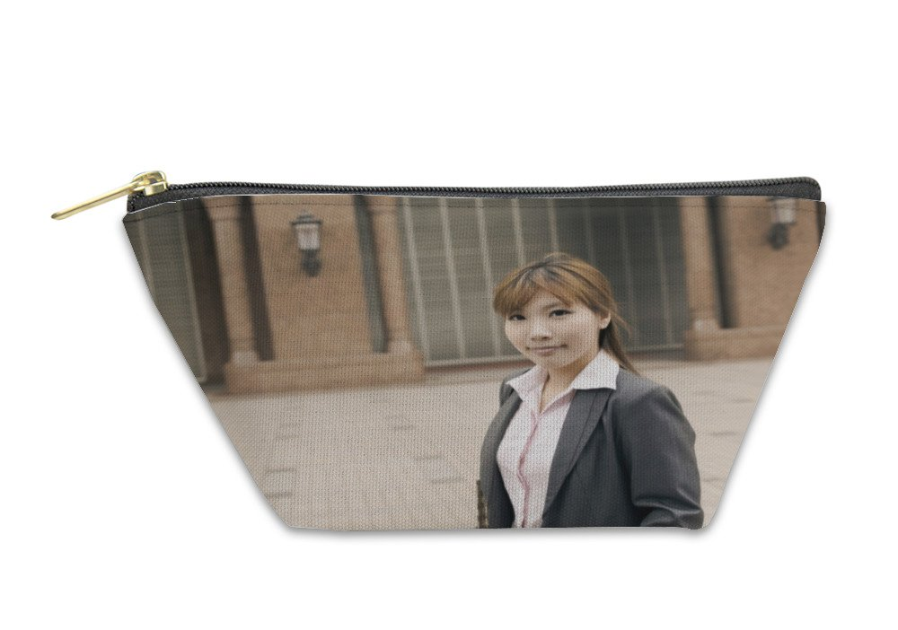 Gear New Accessory Zipper Pouch, Attractive Young Business Woman, Small, 5896930GN