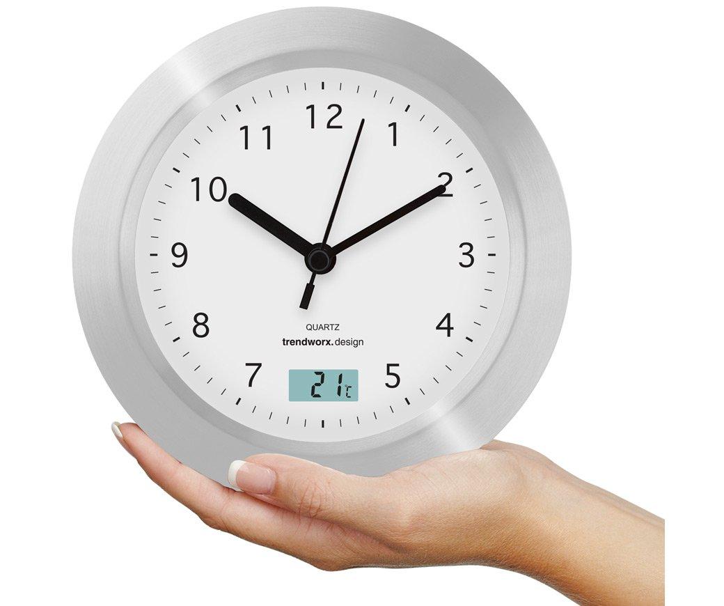 Trendworx 4044 Badezimmeruhr Mit Saugnapf Und Digitalem Thermometer:  Amazon.de: Küche U0026 Haushalt