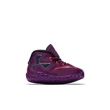 0649e238d99 Nike Lebron XIII Infant Toddler Boys Bootie Mulberry Pure Platinum Vivid  Purple Black